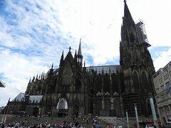 オッス!久しぶりな大聖堂。 風が強かった。