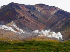 どーん!  これが北海道最高峰の旭岳。 標高2291m