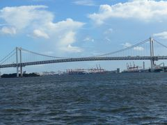 東京湾クルーズでレインボーブリッジが見えた!!