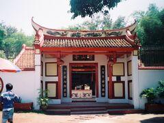 1795年に建てられた中国寺院のポー・サン・テン寺院