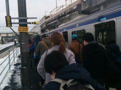 新白河駅に到着です。