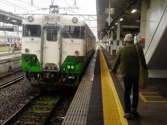 またすぐ乗り換え 喜多方駅へ向かいます