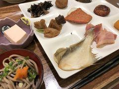 ホテルに戻って朝食です。 島根の郷土食が多くあり美味しいです。 中でも、浜田産のかれいがあるのには感動!味はもちろん絶品です。