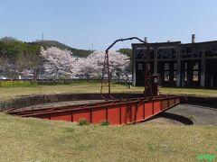 【旧豊後森機関区 転車台】 18m級上路式バランスト形。