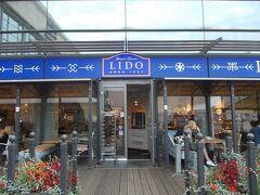 夕食は、鉄道駅横のオリゴ(スーパー)内のビュッフェ形式のLIDOへ