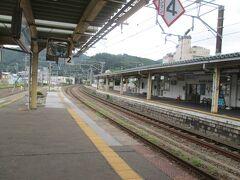 約20分の電車の旅で、浅虫温泉駅に到着です。