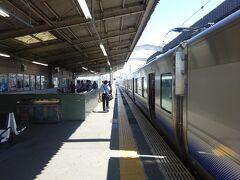東羽衣駅に到着。