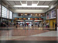 Estación María Zambrano 大きな駅です。 すぐ横にはバスターミナルもあります。 コインロッカーに荷物を預け、 タクシーで観光に向かいました。