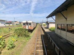 津軽五所川原に到着