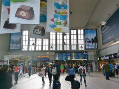 デュッセルドルフ中央駅コンコース。