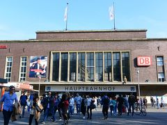 デュッセルドルフ中央駅を出て、本日の宿に向かいます。