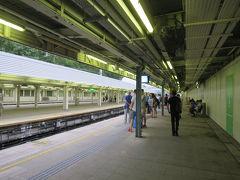 旅の始まりはMTRの羅湖駅から。  羅湖の国境(って呼ぶんですかね)を越えて、香港側の駅からスタートです。 初めての香港は深セン側から入りました。