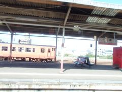 益田駅 さあここからは山陰本線