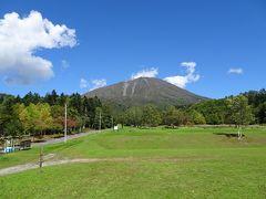 登山口周辺は羊蹄山自然公園となっていて、羊蹄山が綺麗に見えました♪
