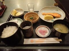 和朝食か洋朝食から選ぶことができます。 和朝食にしました。