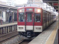伊勢市駅から近鉄の普通電車に乗って斎宮駅に向かいます。
