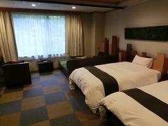 【奥入瀬渓流ホテル】15:10 奥入瀬渓流ホテルに到着。