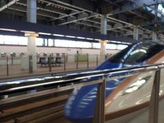 そして金沢駅からは「はくたか」に乗り換え…