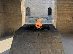 続いて  Fire Temple にきました  火を拝む寺院 ゾロアスター教といった方が 有名でしょうか