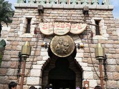 アラビアンコーストに戻って シンドバッド・ストーリーブック・ヴォヤッジに乗ります。