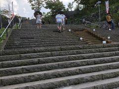 伊香保へ。階段を上って行きます