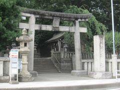 改めて御所神社正面の鳥居から境内へ。
