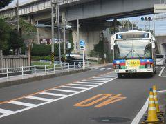 奥湯河原行のバスに乗車。 意外と混んでます。