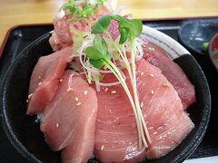 酒田では3度目の正直となったマグロ丼を堪能。