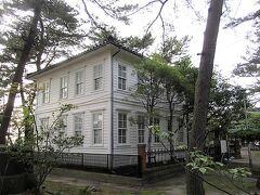 公園内には旧白崎医院があったり(こんな洋館を見るの、大好きです!)