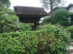 極楽浄土の派手なイメージとは裏腹に静かなお寺でした。 真言宗と言うことで武士の街鎌倉では珍しいそうです。