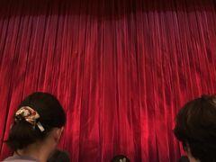 12:20  お席は5列目のほぼセンター( ´艸`)  昨日のラス回に出ていたお気に入りダンサーの爽やかクン、初回にはいるはずなんですが…  最近はローテーション変わったのか、残念ながら出演されていませんでした(;ω;)  でも、ここのところ男性ダンサーさんが6人と少なくて物足りなかったのですが、今日は7人に戻ってましたー☆*:.。. o(≧▽≦)o .。.:*☆  たかが1人と侮るなかれ、各シーンでダンサーさんの立ち位置や構成が変わるので、ずっと見なれている私にはとってもショボく感じてしまうのです。。。