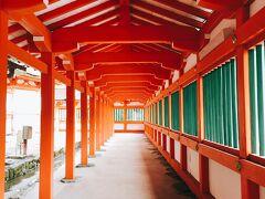 夕日が見られるまで少し時間があったので、日御碕神社にも行ってみることに。 案内板に従って歩いて、灯台から大体10~15分くらいでしょうか。