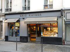 朝食は、パリではとことん食べに行っているエリック・カイザー。  ホテルから一番近いコメルス通りのお店に行きました。