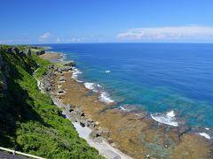 おおー、素晴らしすぎる景色。  断崖絶壁なのに、この海岸線の美しさ。