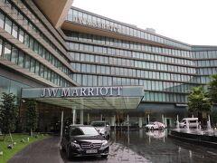 目的の「JWマリオットホテルハノイ」 セール価格で、13,000円とはラッキーでした♪