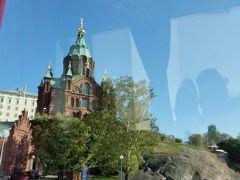ウスペンスキー寺院  前回行きました。北欧最大のロシア正教の教会です。金色を中心とした装飾が美しかったです。