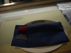 """結局ここの市場ではゆっくり食べられないという事で 市場内にあるレストラン(タパスバー)で食事をしました """"Casa Guinart"""" http://www.casaguinart.com/"""