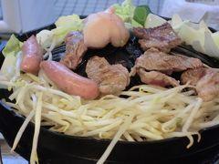 夜は札幌で行きつけのジンギスカン料理の店へ  味の羊ヶ丘 http://www.ajino-hitsujigaoka.com/