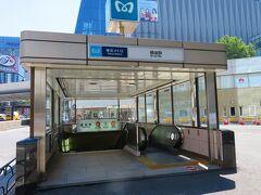 スタートは東京メトロ銀座駅。  ここは近くにJR有楽町駅や東京メトロ日比谷駅もあって交通の便はかなりいいです。