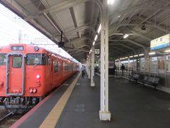 門司駅から関門トンネルをくぐり下関駅へ。そういえばこの間NHKの「ブラタモリ」で関門トンネル特集していたのを思い出す。