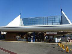 みさき公園口の駅舎。