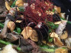 「道の駅 遊YOUさろん東城」の「レストランもみじ」でもつ鍋! いろんな種類のもつが入っていて驚きました(*'▽'*)わぁ♪