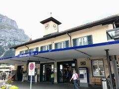 35分でグリンデルワルト駅に到着しました。