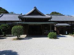 長府毛利邸。この屋敷は20世紀初頭の建物だ。
