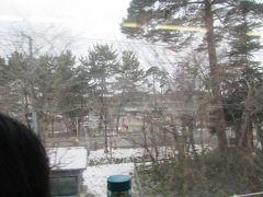 車窓からしか見たことない猪苗代湖