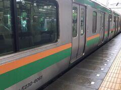 千葉から仙台までは約7時間くらいです。  14時くらいに仙台に着けばいいかなと余裕をかまして06:50の千葉発で出発します。 東京駅に着くと宇都宮行きの快速が人身事故で止まっているとのこと。  前日の台風の影響を心配していただけにまさかの人身事故(◞‸◟)  仕方なく上野まで移動してそこで50分ほど待機。 ようやく再開のメドが経ち始め、電車が到着。 でもこれは各駅停車の宇都宮行きとのこと。  スマホでルート検索し直しても夕方遅くになりそうな・・ 友人の絵を見に行く予定があったので開館中には着きたいのに~  岡山旅の時の新幹線乗り換え事件が脳裏をよぎります・・・|д゚)