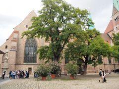そして大聖堂。 アウクスブルク司教の教会として904年に建築が始まりました。