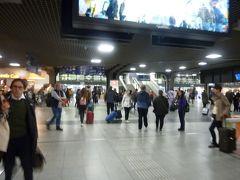 ブリュッセル南駅に到着です。 悪名高い駅ですが、駅構内は落ち着いています。