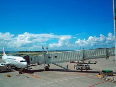 那覇空港に到着