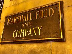 次はこちら。 「マーシャルフィールドカンパニー」と書いていますが、アメリカの百貨店Macy'sです。 かつては「マーシャルフィールズ百貨店」だったようです。